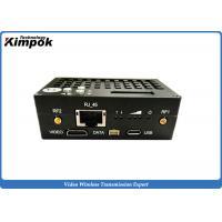10km UAV Wireless Transceiver 1W RF Flying Video Transmitter HDMI + RJ45 + RS-232/RS-485/RS422