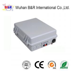 China IP65 Enclosed 16 Ports Optical Fiber Termination Box on sale
