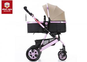 China Easy Usage Travel Infant Toddler Stroller , High View Baby Born Pushchair 2 In 1 on sale