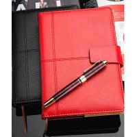 PU notebook with snap button