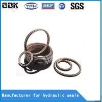 China HBTS Bronze Filled PTFE Hydraulic Buffer Seal Hydraulic Rubber Seal Rings on sale