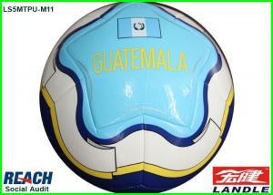 China Silk Screen / Heat Transfer Printing Soccer Balls Machine stitched Process on sale