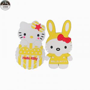 China Hello Kitty Custom Made Embroidered Patches For Decoration Accessories on sale