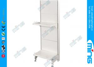 China Single Sided Metal Retail Display Shelves for Grocery Malls , Plastic Sprayed Surface on sale