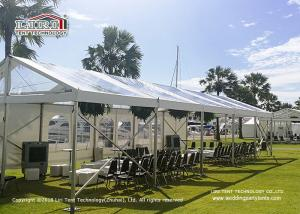 China Transparent PVC Roof Cover Outdoor Party Tent Marquee For Conference on sale