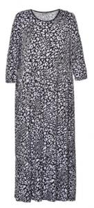 China 2019 New Style Printing Long Dress for Ladies In Spring Or Summer on sale