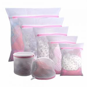 China Set of 5 Mesh Laundry Bags-1 Extra Large, 2 Large & 2 Medium Bags Laundry,Blouse, Underwear, Travel Laundry Bag on sale