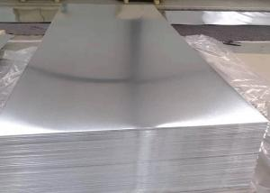 China 8000 Series Plain Aluminium Alloy Sheet For Decoration And Construction on sale