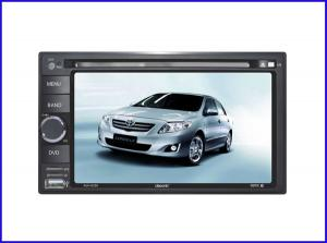 China 6.2 HD TFT touch screen Universal car dvd player with BT/Radio on sale