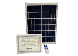 China SMD2835 100W Remote Controlled LED Solar Flood Lights 800LM on sale