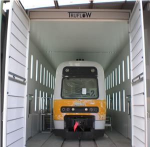 China industrial spray booth on sale