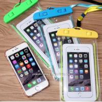 Phone Dry Bag Waterproof Pouch Bag With Fluorescent Frame For Outdoor Water Activities