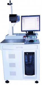 China 30W Desk Style UV Laser Marking Machine 300 X 300 Mm Marking Range on sale