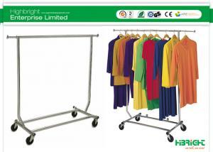 China Single Bar Collapsible Salesman Underwear Rack Garment Display Racks Series on sale