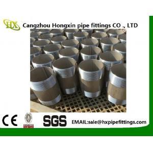 China L'acier au carbone de noir de fil de GOST a longtemps soudé le mamelon de /Pipe on sale