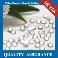 China flat back rhinestone china wholesale,non hot fix flat back rhinestone ss10 crystal on sale