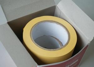China Желтой электрической слипчивой фильм штейна PVC изоляции стабилизированный лентой пластицированный on sale
