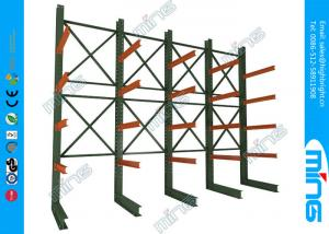 China Cantilever Rack Double Sided Heavy Duty Pallet Storage Racks for Warehouse on sale