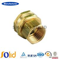 China Manufacturer Male Thread Connector Brass Ferrule Fittings on sale