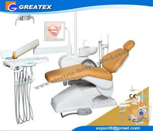 China Hospital Furniture Electric flight dental chair equipment with Adjustable holders on sale