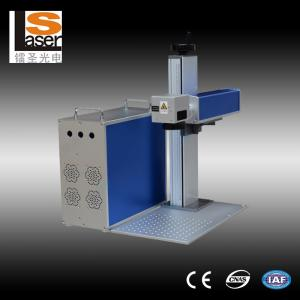 China Steel Plates  Fiber Laser Marker Machines For Micro Sd Memory Card , Mini Laser Marking Machine on sale