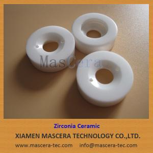 China High Fracture Strength Yttria Stabilized Zirconia ZrO2 Ceramic Rings supplier