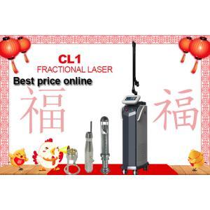 China Medical Fractional Co2 Laser Machine For Under Eye Wrinkles / Skin Rejuvenation  with 40 w on sale