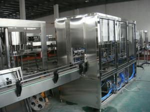 China Máquina de engarrafamento totalmente automático da água e máquina tampando giratória automática (combinado) on sale