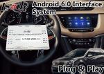 Interfaz video de la navegación GPS de Android 6,0 para Cadillac XT5/XTS/SRX/ATS/sistema de la SEÑAL de CTS 2014-2018