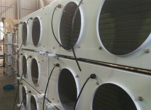 Quality AUKS Small and medium unit coolers Refrigeration Evaporator for cold storage , AC 380V / 400 V 50/60hz for sale