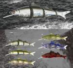 El mejor señuelo de la pesca del wobber del plástico de la venta los 23cm del nuevo diseño