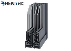 China 6063 T5 Powder Painted Aluminium Window Frame Profiles For Sliding Window on sale