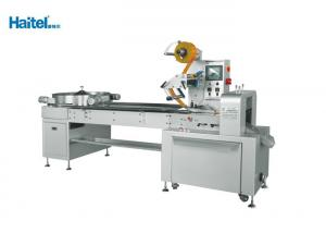China High Speed Horizontal Flow Wrap Machine , Large Screen Candy Pillow Pack Machine on sale