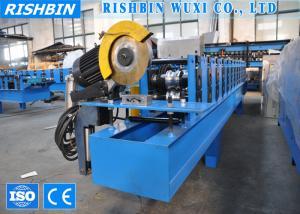 China 高い等級の Cr12 切刃が付いている鋼鉄ローラー シャッター ドア機械 on sale
