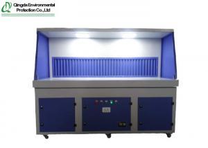 China 450kg Polishing Platform Downdraft Tables Grinding Dust on sale