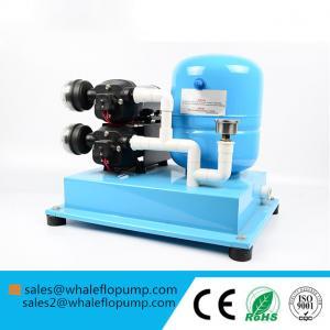 China Whaleflo 12v 24v 110v 220v DC AC High Volume Low Pressure Electric Water Pump Accumulator Kit Set on sale