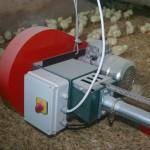 chain feeding motor