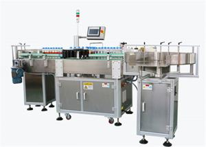 China Round Bottle Rotary Automatic Labeling Machine High Speed Stable Design on sale