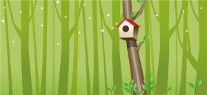 China Eco Friendly Bamboo Fiber Waterproof Wall Panels Forest Mailbox Flameproof on sale
