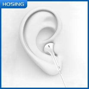 China ABS TPE Dynamic Super Bass White 1.2m E02 Wired Earphone on sale