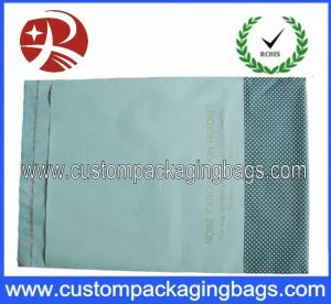 China Off - White Self Sealing LDPE Poly Mailing Bags Can Print Any Color and Logo on sale
