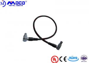 China 1B 16 Pin Custom Cable Assemblies LCD EVF Cable Right Angle To Right Angle on sale