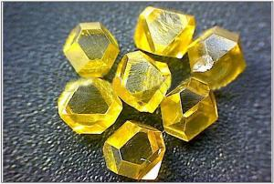 China Synthetic single crystal diamond for Electron / Spaceflight , High Wear Resistance on sale