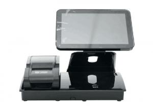 China Touch Screen POS Machine Cash Registers For Bars With External 58mm Thermal Printer on sale