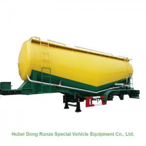China 50-70cbm 2/3 Axle Cement Silo Trailer , Dry Bulk Cargo Trailer 40 - 100 Tons on sale