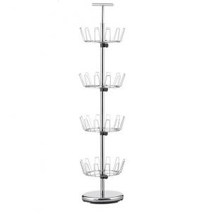 China Powder Coating Shoe Display Racks Store Fixture For Shoe Shop on sale