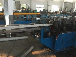 China PLC Control Fire Damper Blade Flange Making Machine Electric Fully Automatic on sale