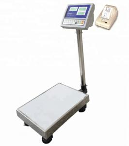 China Industrial Electronic Weight Bench Programmable Dial 1.0mm Stainless Steel Tray on sale