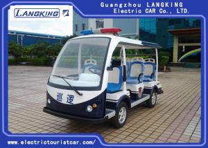 China Customized Design Electric Police Patrol Car , Golf Electric Cart Four Wheel on sale