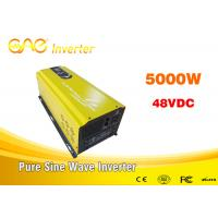 Low frequency pure sine wave off grid solar inverter solar power 48 volt dc to 220 volt 50hz ac inverter 5000w